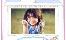 可爱温馨创意宝宝十周岁生日生活记录相册H5模板缩略图