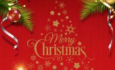 卡通可爱圣诞活动邀请函H5模板缩略图
