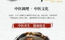 古风传承中医文化中医养生推广H5模板缩略图