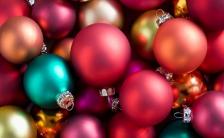 精美炫彩圣诞节贺卡H5模板缩略图