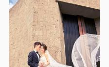 简约时尚大气婚礼邀请函H5模板缩略图