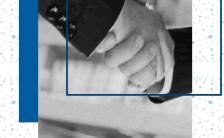 蓝色商务企业宣传画册招聘招商简章H5模板缩略图