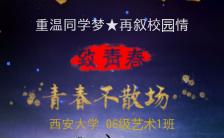 梦幻文艺同学会邀请函H5模板缩略图