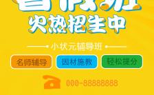 暑假招生宣传简章H5模板缩略图