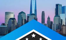蓝色大气商务风企业宣传手册H5模板缩略图