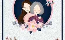 5.10卡通清新花卉母亲节热卖H5模板缩略图