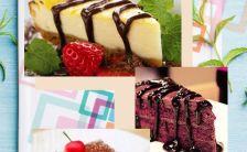 新品美食餐厅宣传推广H5模板缩略图