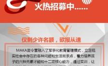 夏令营冬令营寒暑假招生报名活动推广手机海报缩略图