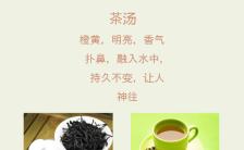 简洁中国风复古典雅茶缘茶叶推广促销长单页缩略图